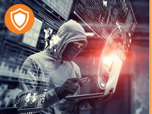 Hackerangriff an Laptop